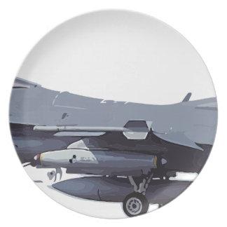 General_Dynamics_F-16C_Fighting_Falcon_(401),_USA_ Plate