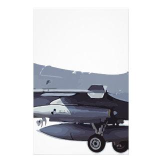 General_Dynamics_F-16C_Fighting_Falcon_(401),_USA_ Stationery