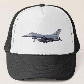 General_Dynamics_F-16C_Fighting_Falcon_(401),_USA_ Trucker Hat