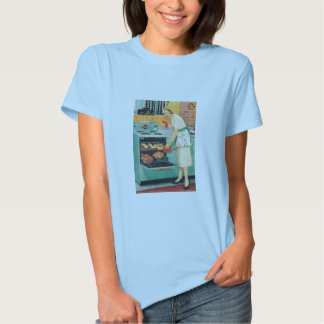 General Electric Stove Housewife T-Shirt 1956