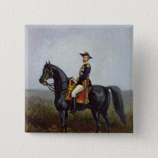 General George Ernest Boulanger 2 Inch Square Button