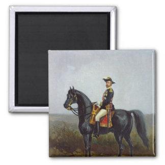 General George Ernest Boulanger Square Magnet