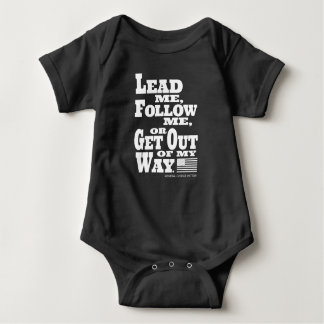 General George Patton Quote Baby Onsie Baby Bodysuit