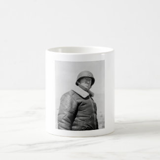 General George Patton - WWII Photo Coffee Mug