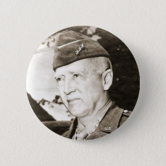 General George Smith Patton 2 Inch Round Button