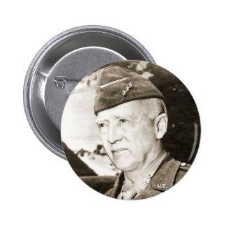 General George Smith Patton 2 Inch Round Button