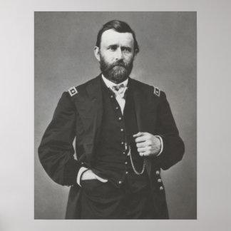 General Grant During The Civil War Poster