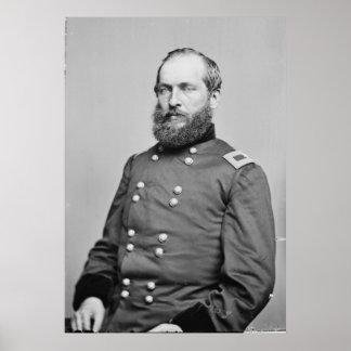 General James Garfield Poster