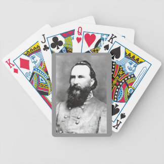 GENERAL JAMES LONGSTREET BICYCLE PLAYING CARDS