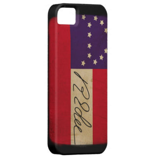 General Lee Headquarters Flag with Signature iPhone 5 Cases