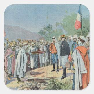 General Lyautey received surrender of rebel Sticker