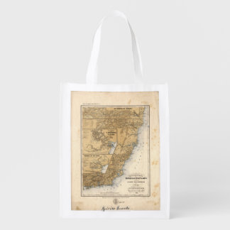 General Mappa of the Province (1865) Grocery Bags