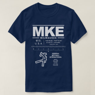 General Mitchell International Airport MKE T-Shirt