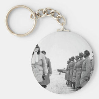 General of the Army Douglas _War Image Basic Round Button Keychain