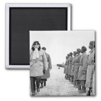 General of the Army Douglas _War Image Square Magnet