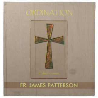 General Ordination Congratulations, Metal Design C Cloth Napkin