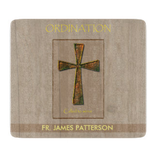 General Ordination Congratulations, Metal Design C Cutting Boards
