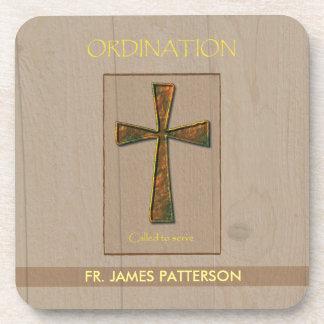 General Ordination Congratulations, Metal Design C Drink Coaster