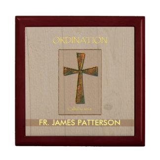 General Ordination Congratulations, Metal Design C Keepsake Boxes