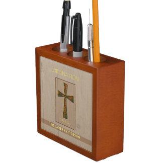 General Ordination Congratulations, Metal Design C Pencil Holder