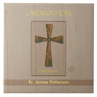 General Ordination Congratulations, Metal Design C Tiles