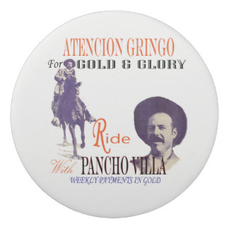 General Pancho Villa Eraser