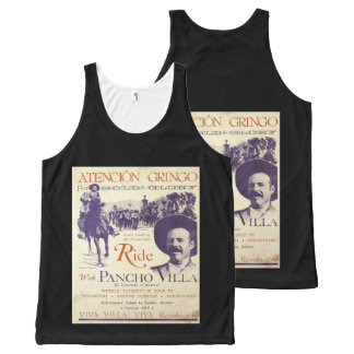 General Pancho Villa Mexican Hero All-Over-Print Tank Top