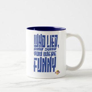 General Parker saying Two-Tone Coffee Mug
