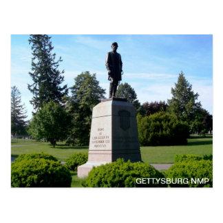 GENERAL REYNOLDS MONUMENT POSTCARD