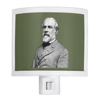 General Robert E. Lee USA Army Green Night Light