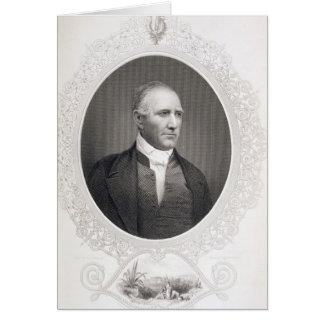General Samuel Houston Greeting Card