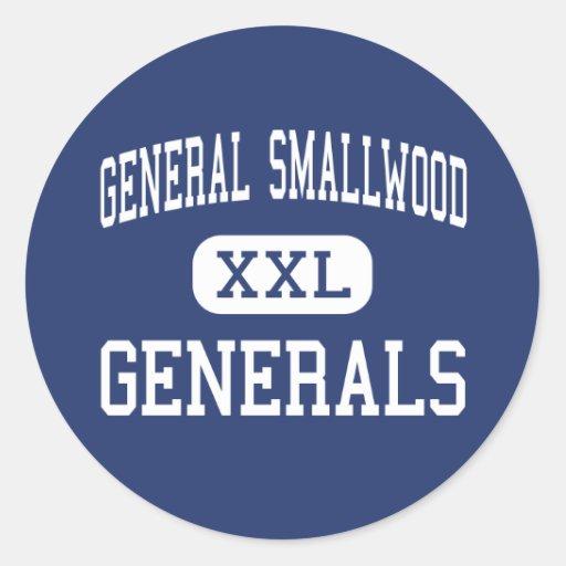 General Smallwood Generals Indian Head Sticker