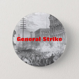 general strike 2 inch round button