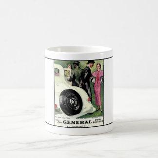 General Tire year 1933  ad.1 Coffee Mug