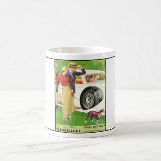 General Tire year 1933 ad.2 Coffee Mug