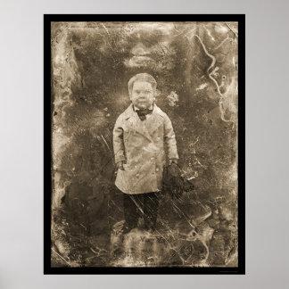 General Tom Thumb Daguerreotype 1844 Poster
