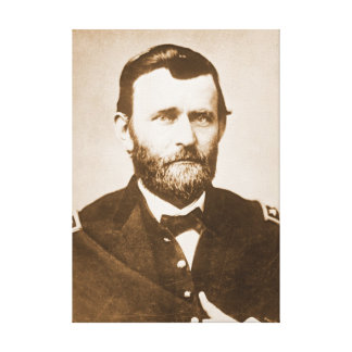 General Ulysses Grant c1865 Canvas Print