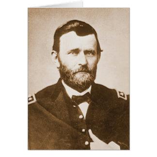 General Ulysses Grant c1865 Card