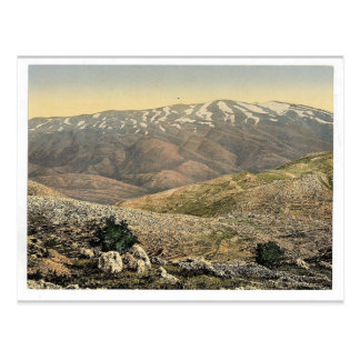 General view, Mount Hermon, Holy Land (i.e., Leban Postcard