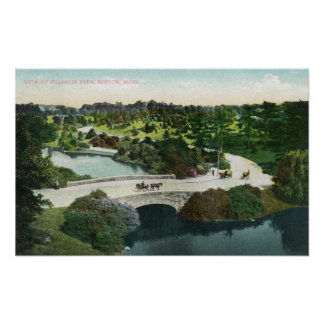 General View of Franklin Park Poster