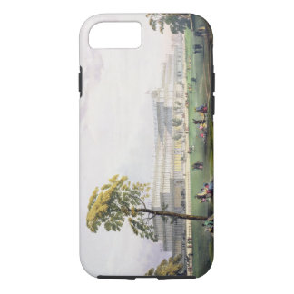 General view of the exterior of the building, in t iPhone 7 case