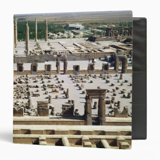 General view of the palace, Achaemenian Period Vinyl Binder