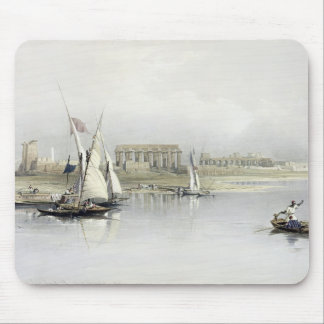 General View of the Ruins of Luxor from the Nile, Mouse Pad