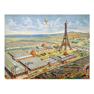 General View of the Universal Exhibition Postcard