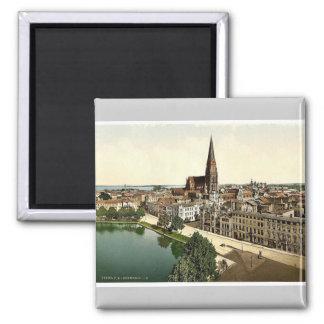 General view, Schwerin, Mecklenburg-Schwerin, Germ Magnet