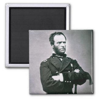 General William T. Sherman (1820-91) (b/w photo) Magnet