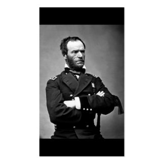 General William Tecumseh Sherman, 1865. Business Card Templates