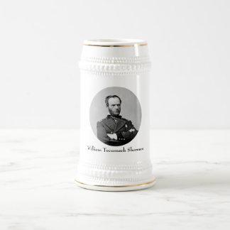 General William Tecumseh Sherman Beer Stein