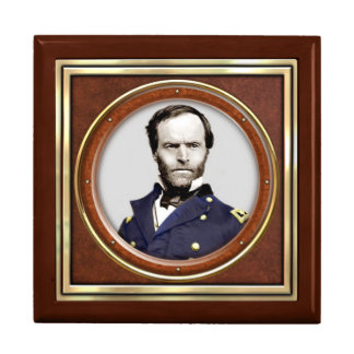 General William Tecumseh Sherman Keepsake Box