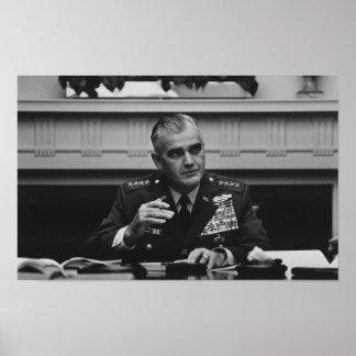 General William Westmoreland -- Vietnam War Poster